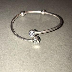 CHAMILIA Silver Flex Bangle Bracelet